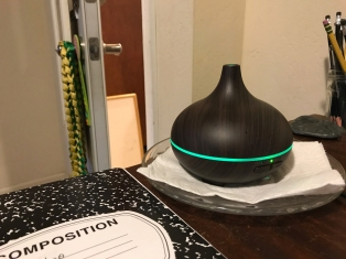 This diffuser makes my room smell so nice!